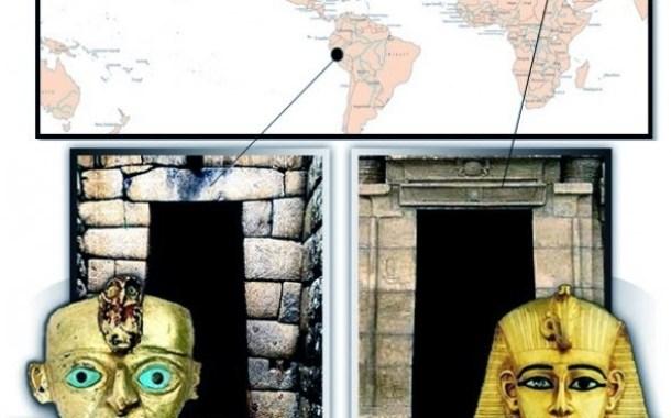 Conexión de Incas y Egipcios, descendientes de la Atlantida.