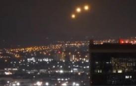 Luces inexplicables en el cielo Oklahoma
