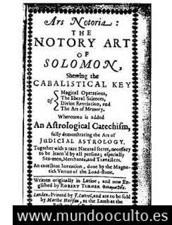 """el texto de ars notoria y la clave del conocimiento ancestral 1 - El texto de """"Ars Notoria"""" y la clave del conocimiento Ancestral"""