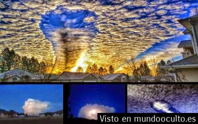 nubes1 - Expertos meteorólogos desconcertados frente a las desconocidas nubes