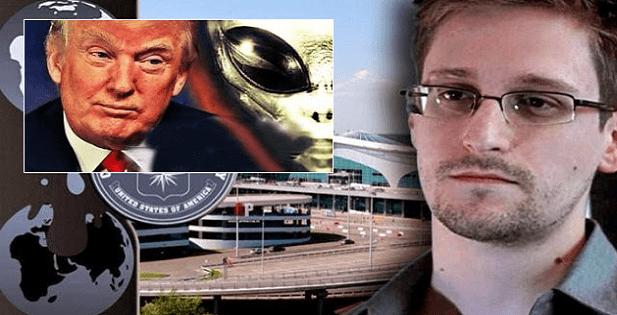 """Edward Snowden: """"Existe una agenda extraterrestre al mando de los EE.UU desde 1945"""""""