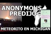 ANONYMOUS PREDICE METEORITO EN MICHIGAN