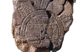 el mapa babilonio del mundo arroja luz sobre las perspectivas antiguas - inicio