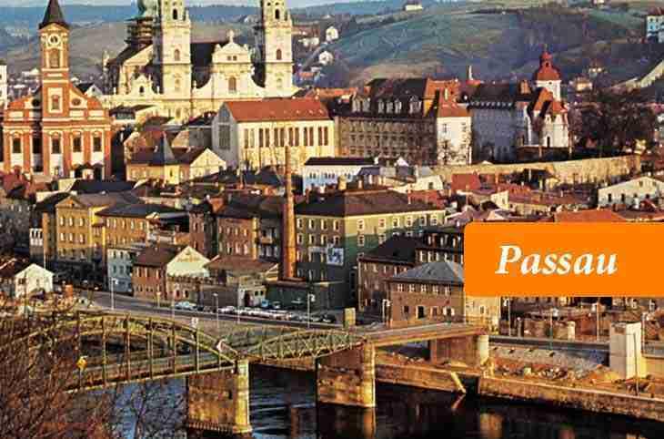 مدينة باساو الألمانية Passau