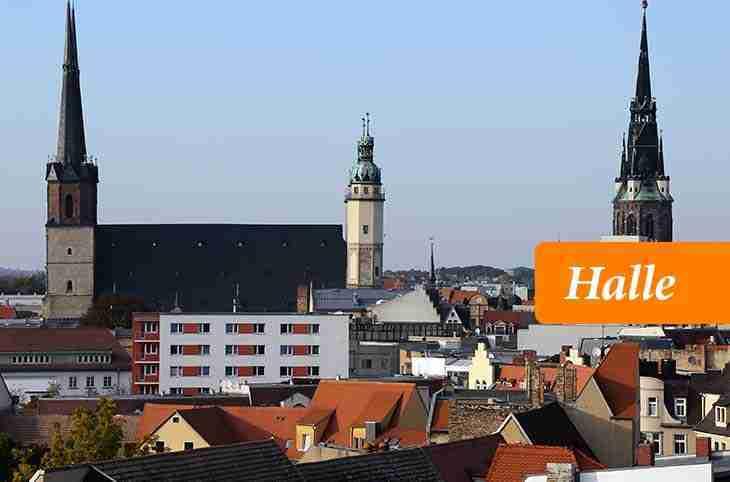 مدينة هالي الألمانية Halle