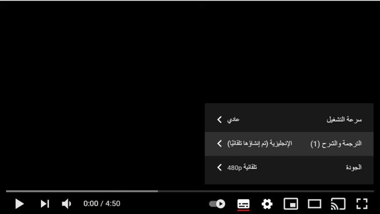 التعديل على فيديوهات اليوتيوب لتعلم اللغات الأجنبية