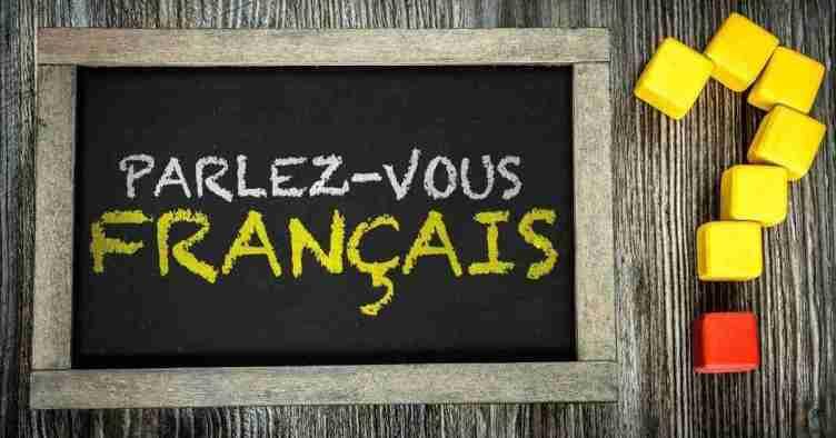 2. اللغة الفرنسية