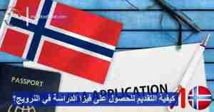 ما هي شروط وخطوات التقديم للحصول على فيزا الدراسة في النرويج؟