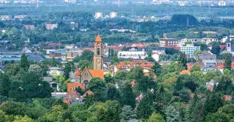 10. مدينة دارمشتات Darmstadt