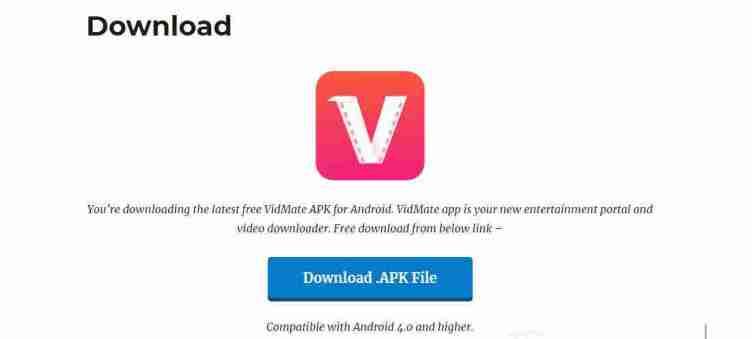 8. تطبيق VidMate