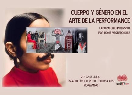 Cuerpo y género en el arte de la performance Pergamino Argentina 2017