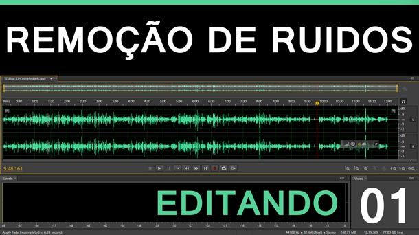 Editando #1 – Remoçío de Ruí­dos | Adobe Audition