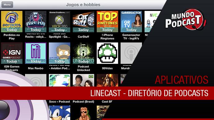LineCast – Diretório de Podcasts