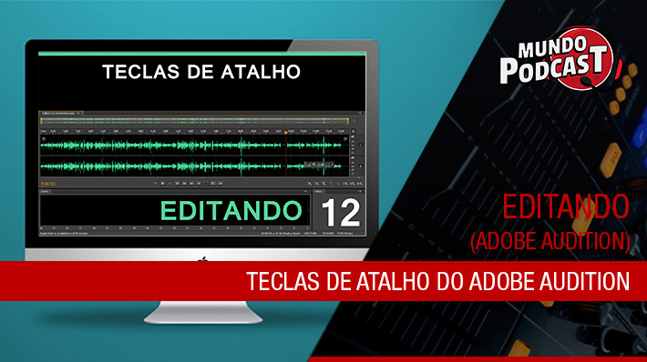 Teclas de Atalho do Adobe Audition
