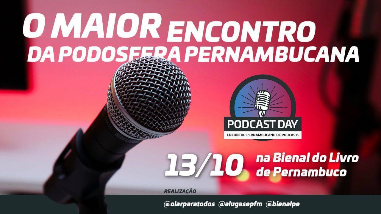 Podcast Day na Bienal do Livro de PE | 2° Encontro Pernambucano de Podcasts