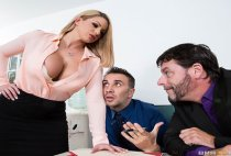 Big Tits At Work - Brooklyn Chase in A Case of the Moan Days