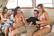 Milfs Like It Big - Yacht orgy! - Brazzers