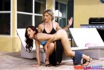 Moms Lick Teens - Brooke Haze, Cory Chase - Poolside Discipline