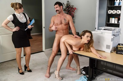 Big Tits At Work - Office Initiation