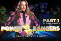 ZZ Series - Power Bangers: A XXX Parody Part 1 - Kimmy Granger
