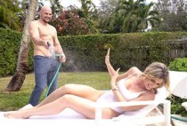 PureMature - Cory Chase - Family Water Fight
