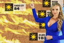 Big Tits At Work - Forecasting Several Inches