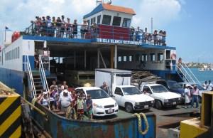 """transbordador """"Isla Blanca"""