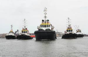 flotilla de remolcadores
