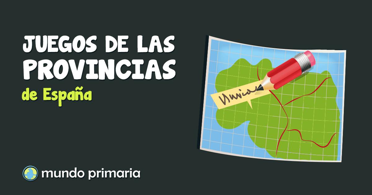 Juegos De Las Provincias De España Para Primaria