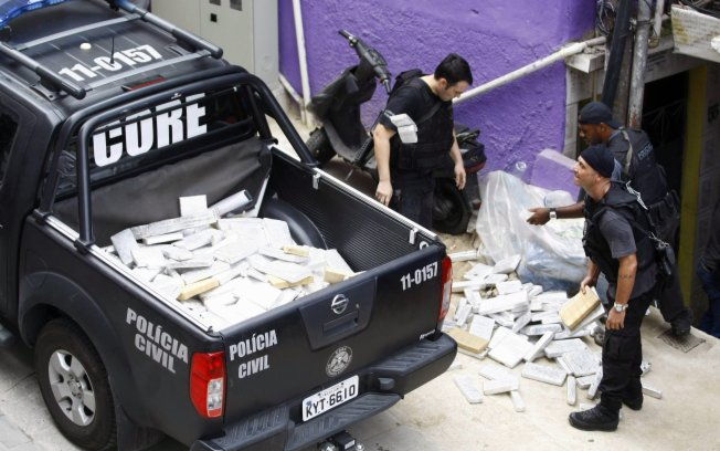 Police Presence Disrupts Rocinha