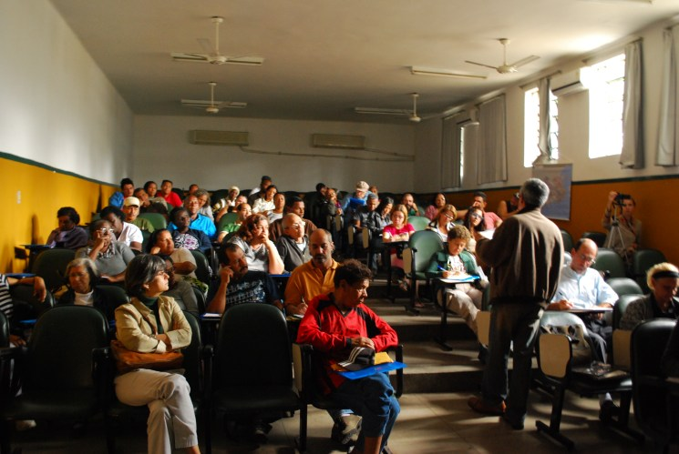 Bento Rubião Meeting in Taquara