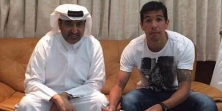 Venda de Cáceres ajuda a pagar dívidas do Flamengo com o atleta