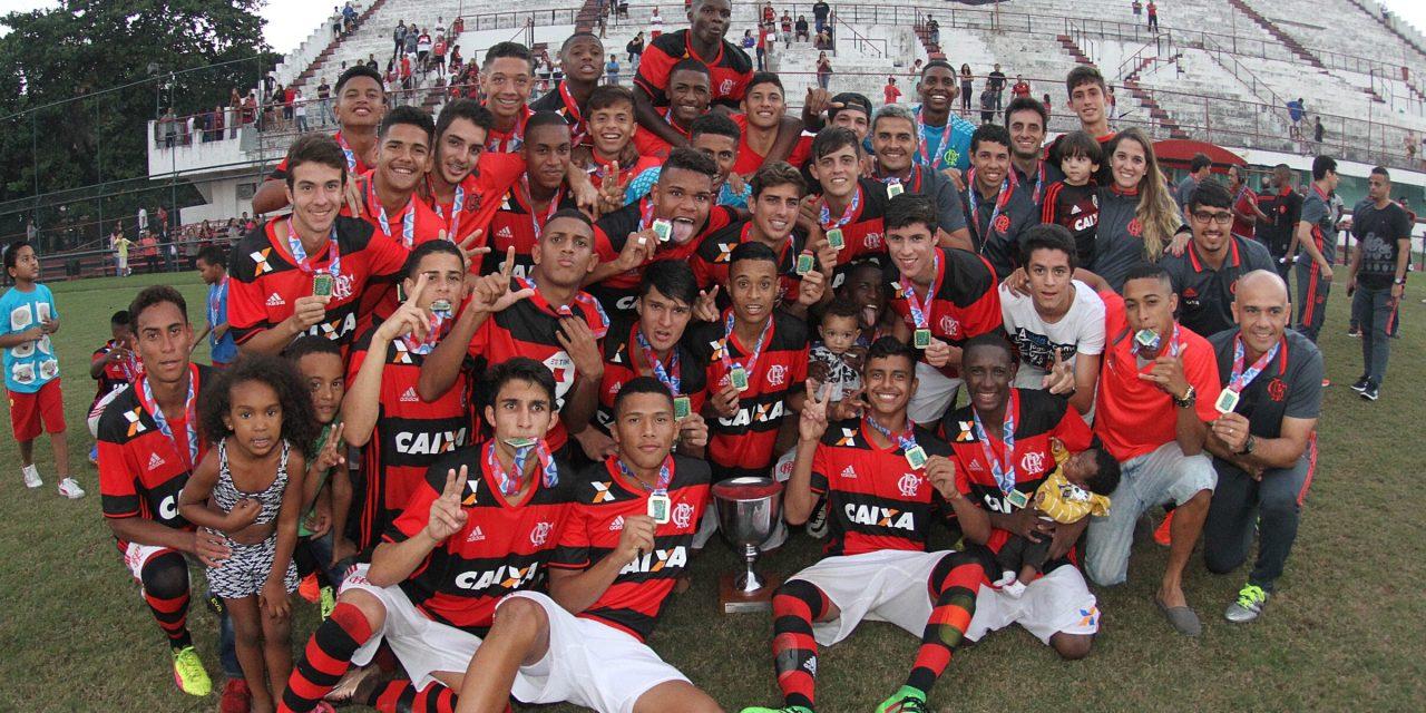 De virada, Fla vence o Botafogo e conquista a Taça Guanabara Sub-17