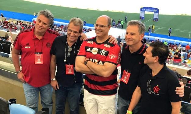 Flamengo conversa com Witzel em busca de liberação para atuar sem público na Gávea