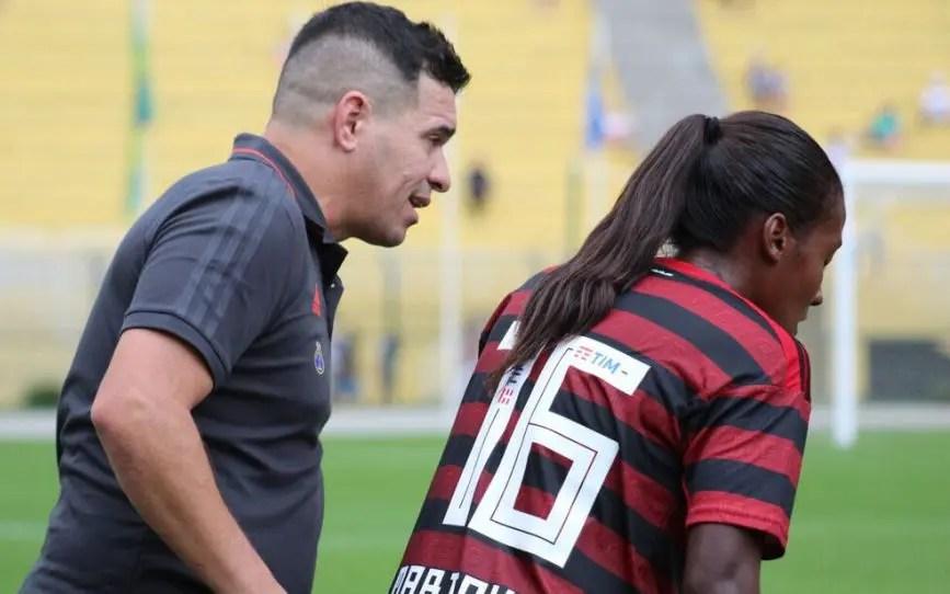 Flamengo/Marinha fará último jogo antes da parada para a Copa do Mundo Feminina