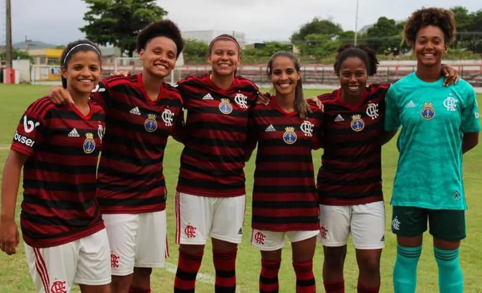 Flamengo contrata seis atletas para o elenco do Futebol Feminino