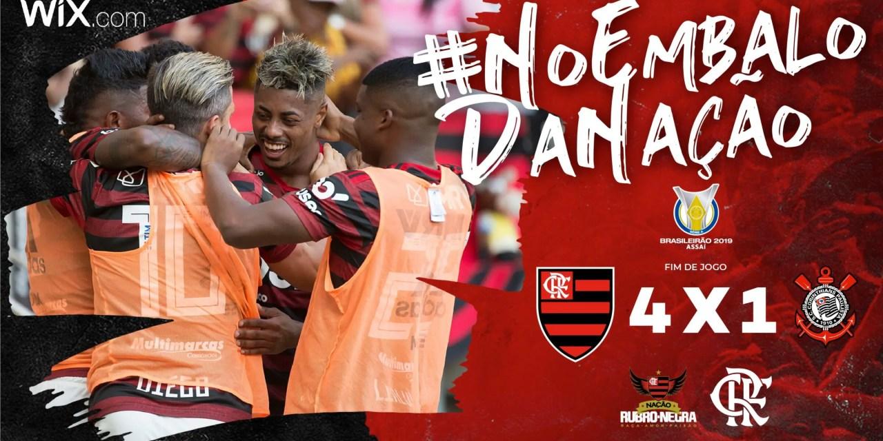 Vitória Contra O Corinthians Classificou O Flamengo Para A