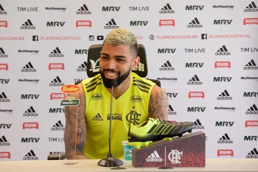 """Gabigol fala sobre possível última partida no Maracanã: """"Vai ser especial"""""""
