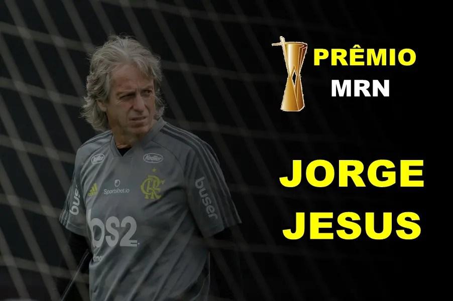 Prêmio MRN: Jorge Jesus desbanca o trio artilheiro e vence como a contratação do ano