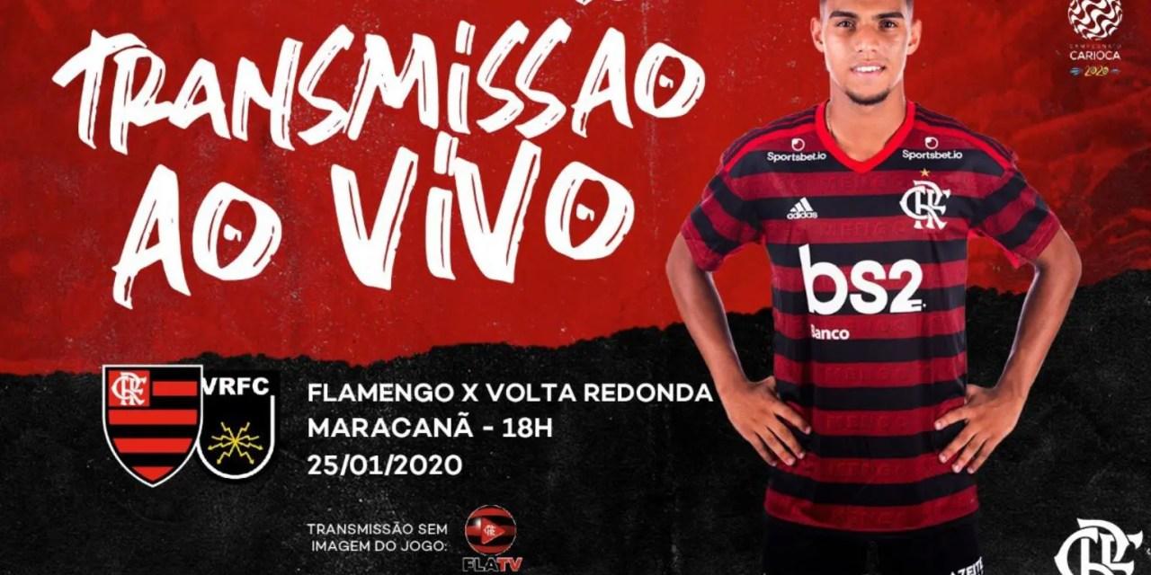 Definido: Flamengo enfrentará o Volta Redonda na semifinal da Taça Rio
