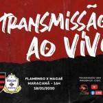 Macaé x Flamengo: acompanhe a transmissão AO VIVO da FLA TV