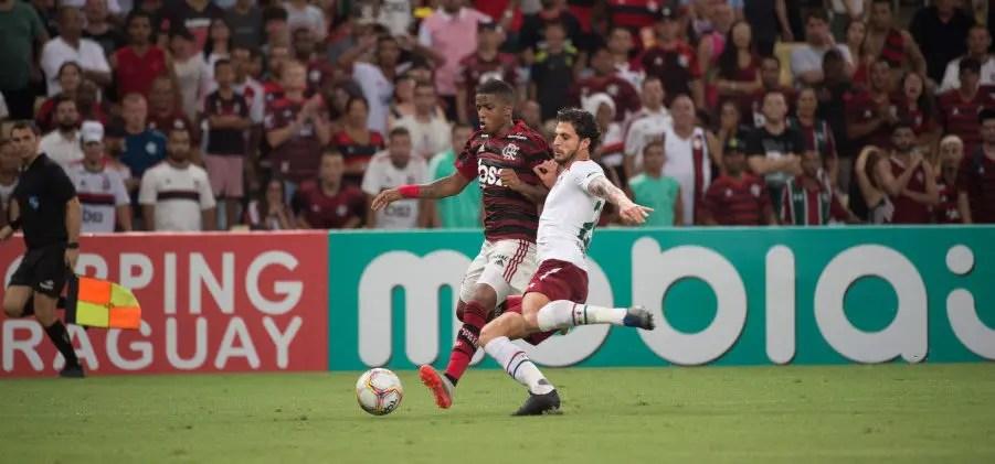 Local de transmissão da final, FluTV ainda não criou a live de Fluminense x Flamengo