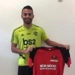 Flamengo destaca lado torcedor ao anunciar Thiago Maia