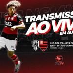 Del Valle x Flamengo: acompanhe AO VIVO a transmissão da Fla TV