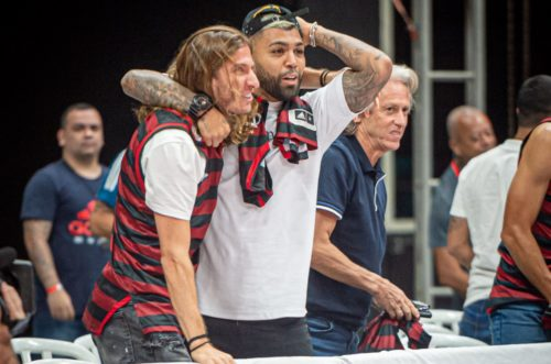 Flamengo Gabigol Filipe Luís