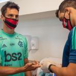 Em novo exame, jogadores do Flamengo testam negativo para coronavírus
