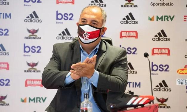 Braz projeta renovação de Diego, confirma venda de Marí e comenta sobre Flamengo x Boavista