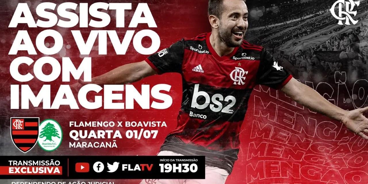 Globo entra com recurso para tentar impedir transmissão de jogo do Flamengo