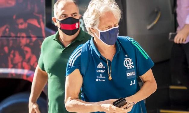 Exclusivo – Nova proposta do Benfica preocupa diretoria do Flamengo e permanência de Jorge Jesus é incerta