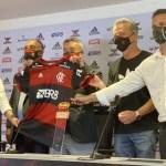 Flamengo domenec apresentacao